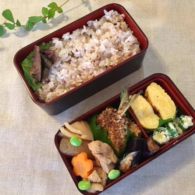 lunch box  母と夫のために♪_a0165160_18195280.jpg