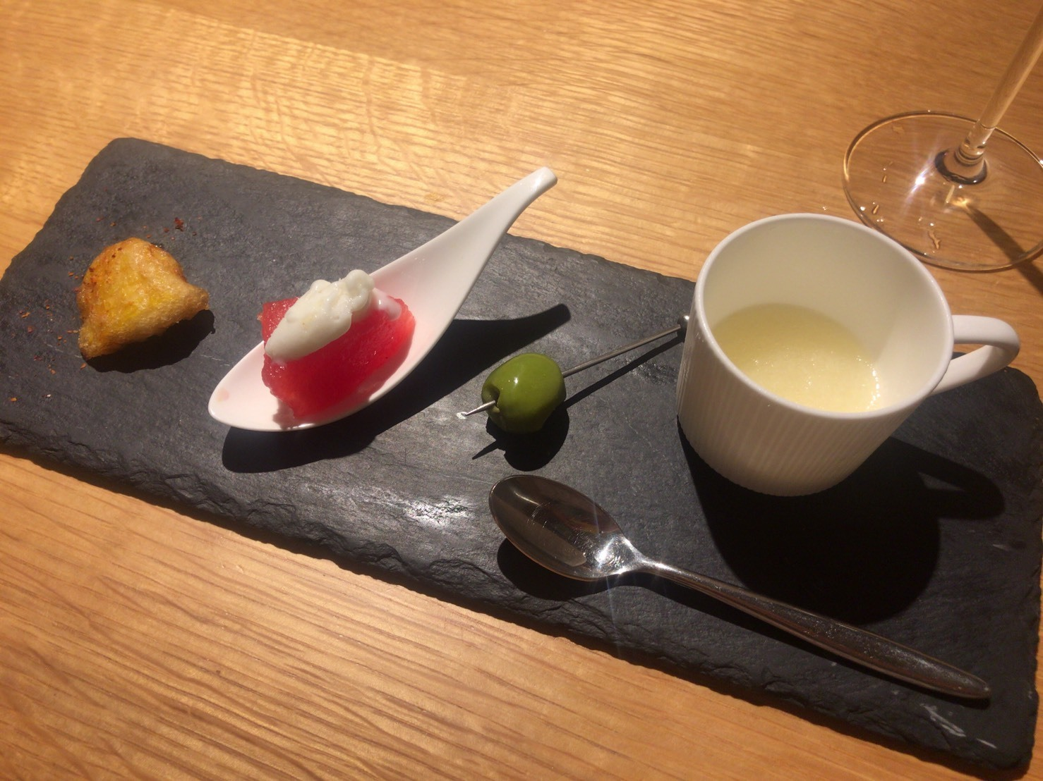 香里(家内)の東京食べある記「シュヴァル・ド・ヒョウタン」_d0177560_15070310.jpg