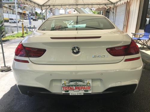 BMW640i【定期メンテナンス】ウルトラストロングコート_d0351087_08162038.jpg