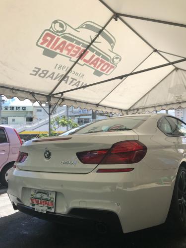 BMW640i【定期メンテナンス】ウルトラストロングコート_d0351087_08163623.jpg