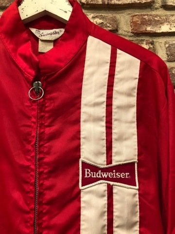 "1970s "" SWING STER \"" CLASSIC NYLON - BUD WEISER - Official RACING JACKET ._d0172088_19504894.jpg"