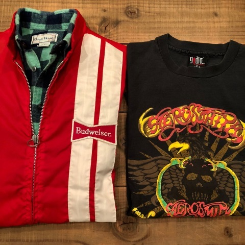 "1970s "" SWING STER \"" CLASSIC NYLON - BUD WEISER - Official RACING JACKET ._d0172088_21065245.jpg"