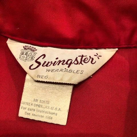 "1970s "" SWING STER \"" CLASSIC NYLON - BUD WEISER - Official RACING JACKET ._d0172088_21074291.jpg"