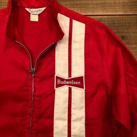 "1970s "" SWING STER \"" CLASSIC NYLON - BUD WEISER - Official RACING JACKET ._d0172088_21085745.jpg"
