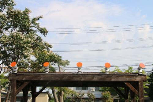今日からアルツハイマー月間なので、ライトアップをオレンジに!_c0075701_09304459.jpg