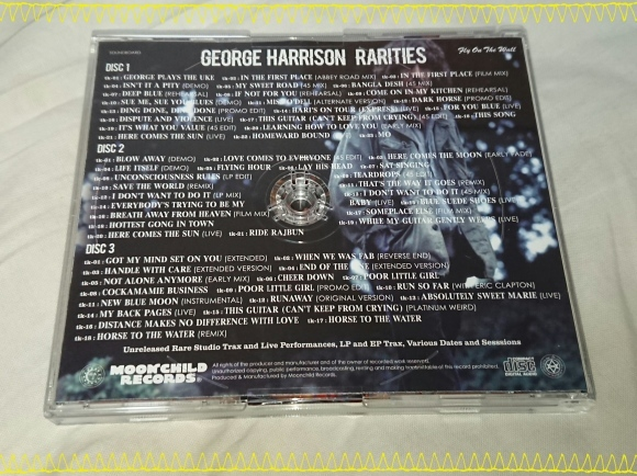 GEORGE HARRISON / RARITIES_b0042308_11224121.jpg
