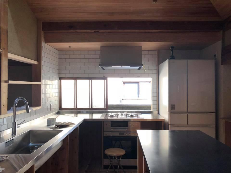 生駒の家 民家再生・セミDIY 進捗状況11_a0116442_18204316.jpg