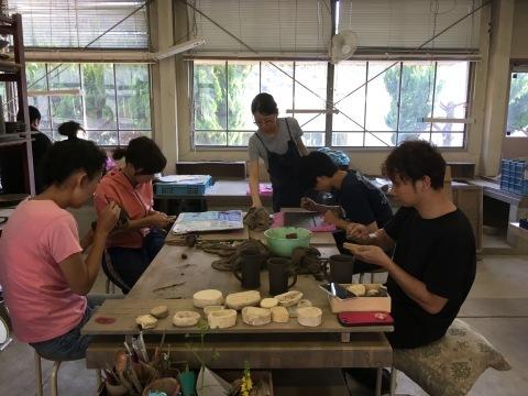 Ceramic Art Bizen in Shizutani  ミーティング1日目_d0229351_10112945.jpg