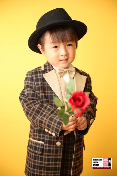 さなちゃん・えいたくん☆ドレス&タキシード_b0203705_13415611.jpg