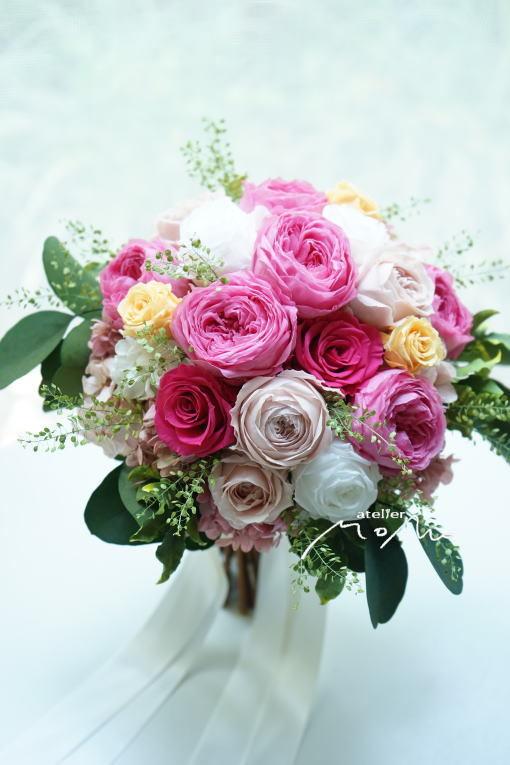 #沖縄挙式ように!クラッチブーケ_a0136507_22275424.jpg
