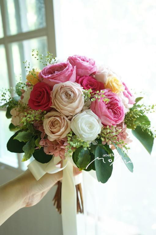 #沖縄挙式ように!クラッチブーケ_a0136507_22281548.jpg