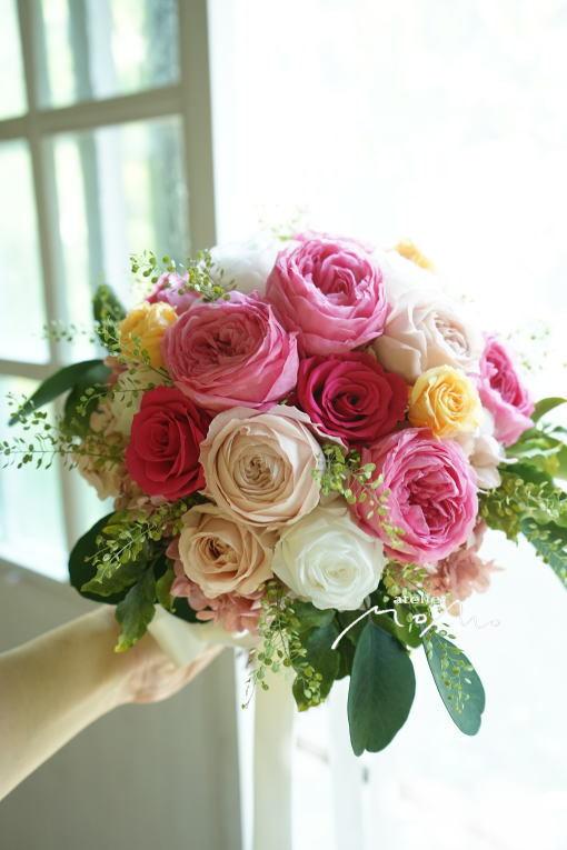 #沖縄挙式ように!クラッチブーケ_a0136507_22282998.jpg