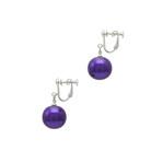 身につける漆 漆のアクセサリー イヤリング 糖蜜珠 本紫色 坂本これくしょんの艶やかで美しくとても軽い和木に漆塗りのアクセサリー SAKAMOTO COLLECTION wearable URUSHI accessories earrings Molasses Jewel Pure purple 糖蜜のようにつややかな丸い珠が耳元で女性らしくゆらゆら揺れる愛らしいフォルム、日本人の肌に合う上品でクールな印象の発色良い鮮やかなパープルカラー、和木に漆塗りのイヤリングはとても軽くて耳元に負担がかかりにくいのが嬉しい、かぶれ防止コートで安心です。 #漆のアクセサリー #軽いイヤリング #漆のイヤリング #イヤリング #糖蜜珠 #本紫色 #紫色のイヤリング #accessories #jewelry #earrings #Molasses #Jewel #Pure #purple #漆塗り #耳が痛くない