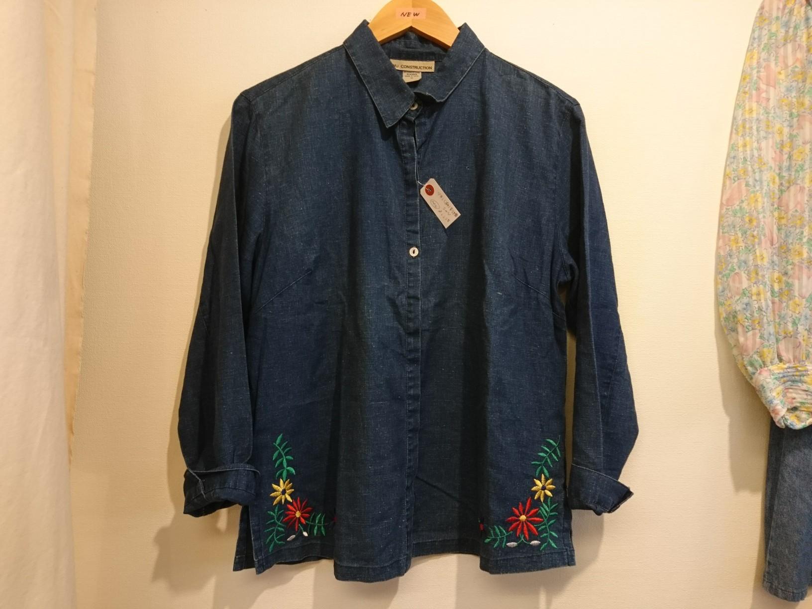 リネン刺繍シャツ_d0256914_16573061.jpg