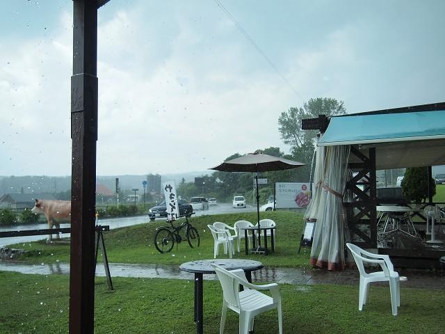 蒜山ウッドパオでジンギスカン_d0295818_00135105.jpg