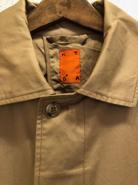 KATO\' Soutien Collar coat_a0222424_20443321.jpg