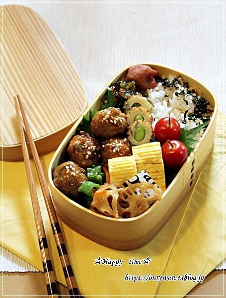肉団子甘酢餡弁当と久しぶりにデザート作り・プリン♪_f0348032_18120519.jpg