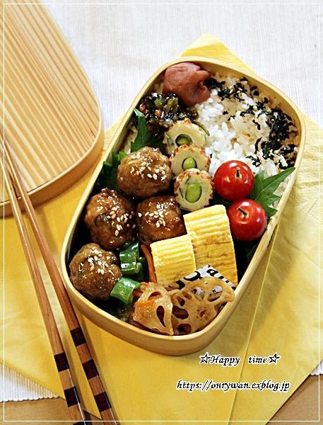 肉団子甘酢餡弁当と久しぶりにデザート作り・プリン♪_f0348032_18121349.jpg