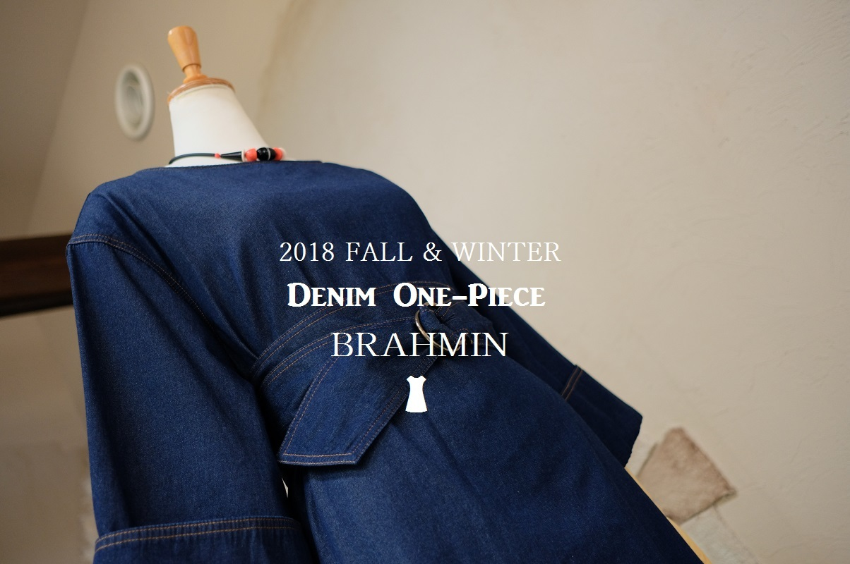 """2018 Fall & Winter~Denim One-Piece...8/31fri\""_d0153941_16232131.jpg"