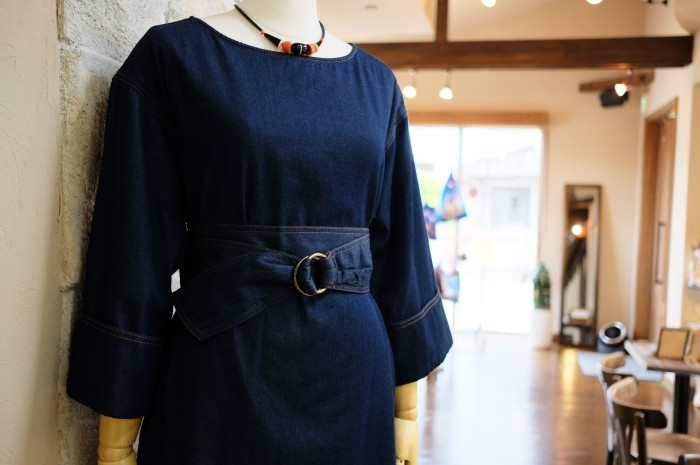 """2018 Fall & Winter~Denim One-Piece...8/31fri\""_d0153941_16241521.jpg"