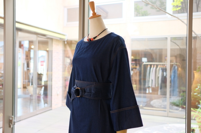 """2018 Fall & Winter~Denim One-Piece...8/31fri\""_d0153941_16244159.jpg"