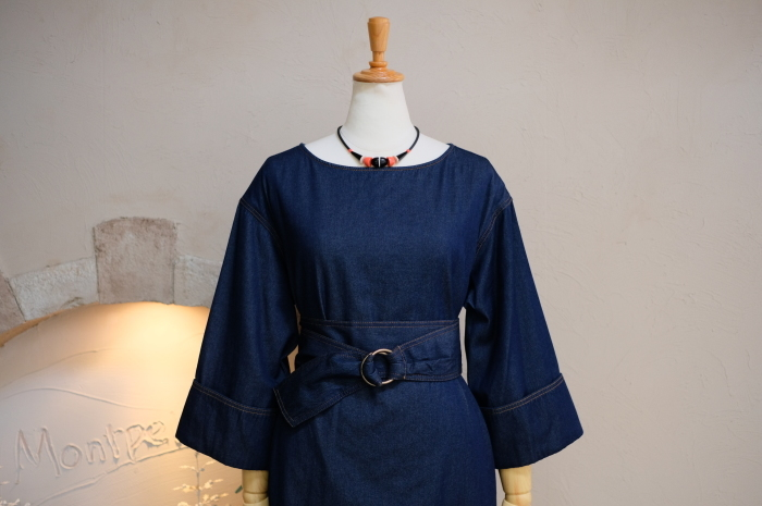 """2018 Fall & Winter~Denim One-Piece...8/31fri\""_d0153941_16245769.jpg"