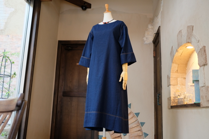"""2018 Fall & Winter~Denim One-Piece...8/31fri\""_d0153941_16283104.jpg"