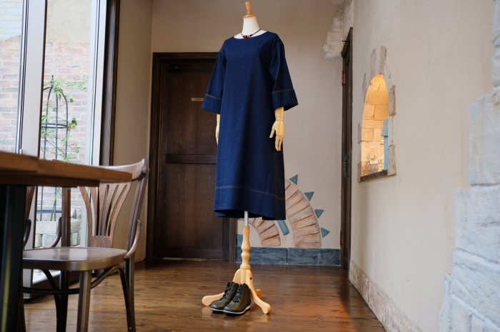 """2018 Fall & Winter~Denim One-Piece...8/31fri\""_d0153941_16371368.jpg"