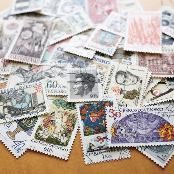 チェコスロバキア時代の古い切手を大量買い_c0060143_10461609.jpg