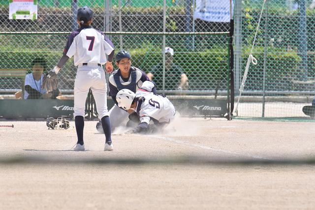 鳥取全中初日 薮塚本町VS中広②_b0249247_18165910.jpg