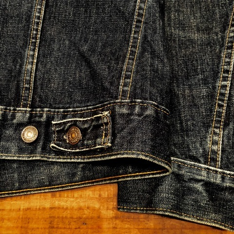 "Early 1970s "" リーバイス \"" - SMALL e - 70505 VINTAGE DENIM TRUCKER JACKET - Rigid Condition - ._d0172088_21503098.jpg"