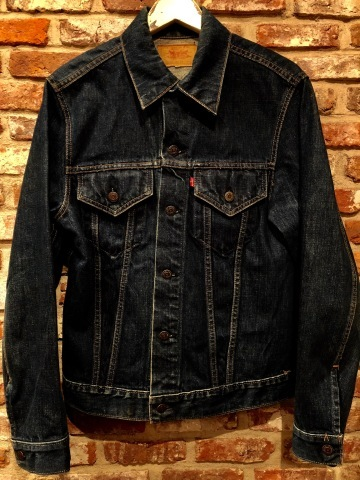 "Early 1970s "" リーバイス \"" - SMALL e - 70505 VINTAGE DENIM TRUCKER JACKET - Rigid Condition - ._d0172088_21510639.jpg"