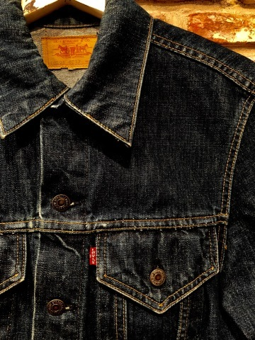 "Early 1970s "" リーバイス \"" - SMALL e - 70505 VINTAGE DENIM TRUCKER JACKET - Rigid Condition - ._d0172088_21512399.jpg"
