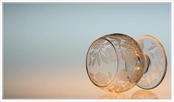 """バカラ フォントネイ Baccarat \""""Fontenay\"""" アンティーク オールド バカラ ローズ とても小さなグラス_d0184921_15280249.jpg"""