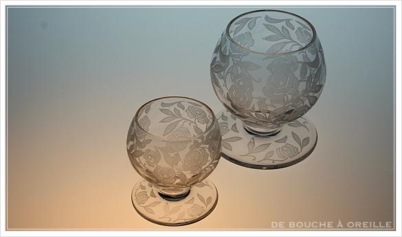 """バカラ フォントネイ Baccarat \""""Fontenay\"""" アンティーク オールド バカラ ローズ とても小さなグラス_d0184921_15283758.jpg"""