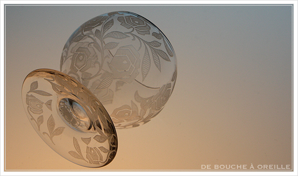 """バカラ フォントネイ Baccarat \""""Fontenay\"""" アンティーク オールド バカラ ローズ とても小さなグラス_d0184921_15344941.jpg"""