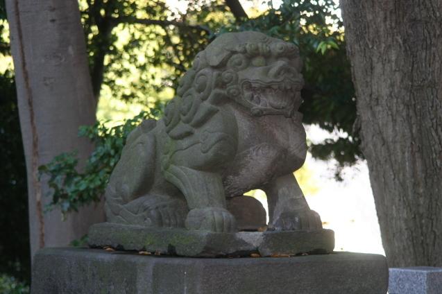 都内最古の狛犬さんは364歳_b0074359_22235576.jpg