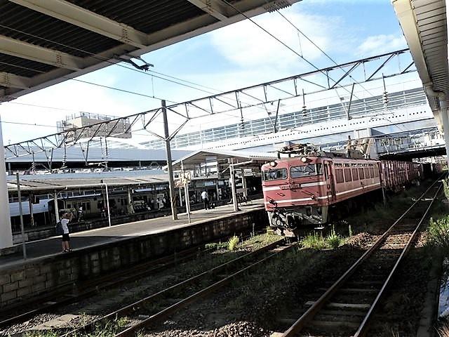 藤田八束の鉄道写真@東北本線の楽しい列車達、奥羽本線のリゾート列車・・・青い森鉄道の貨物列車、モーリー君_d0181492_15500449.jpg