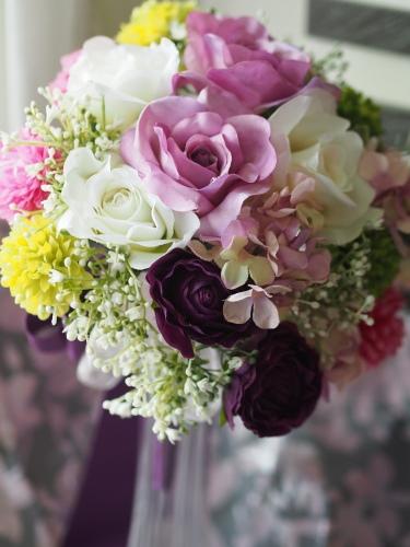 【Ronud bouquet】_d0144095_17225553.jpg