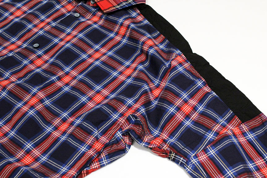"HURRAY HURRAY (フレイ フレイ) "" CHECK SWITCHING WIDE SHIRTS \""_b0122806_12495079.jpg"