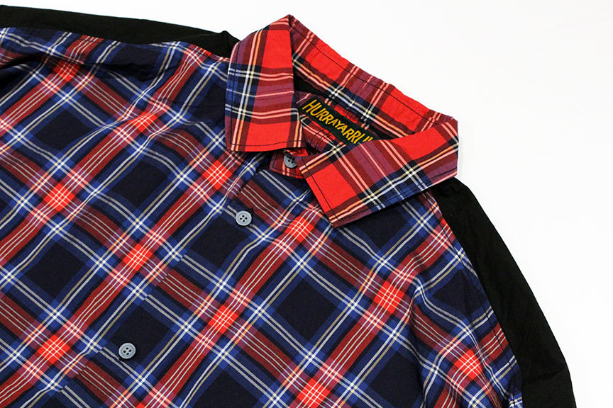 "HURRAY HURRAY (フレイ フレイ) "" CHECK SWITCHING WIDE SHIRTS \""_b0122806_12495495.jpg"