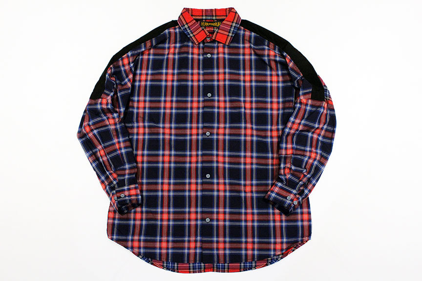 "HURRAY HURRAY (フレイ フレイ) "" CHECK SWITCHING WIDE SHIRTS \""_b0122806_12495873.jpg"