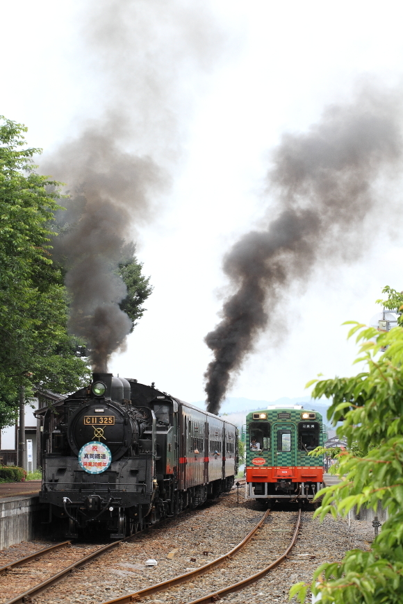 2両の機関車が黒煙をあげる - 真岡・2018年PP -_b0190710_22142082.jpg