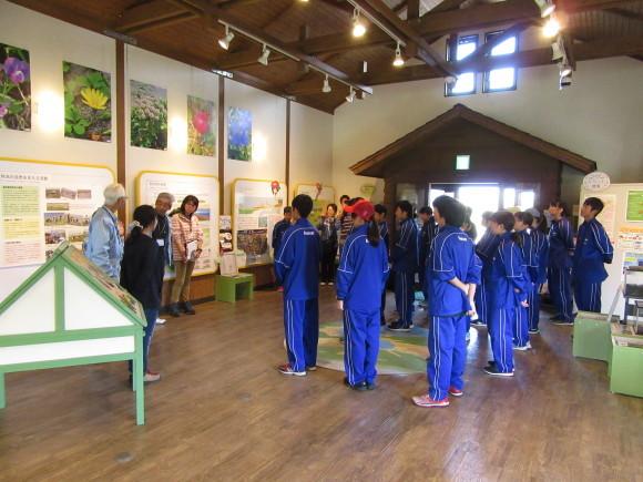 石狩中学校 環境学習_f0354435_14460288.jpg