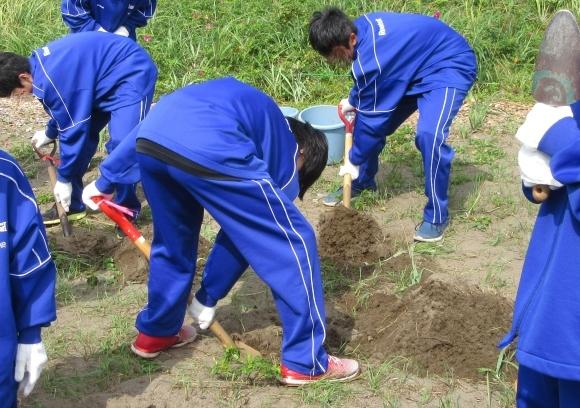 石狩中学校 環境学習_f0354435_14490034.jpg