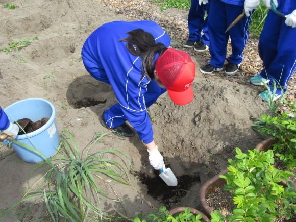 石狩中学校 環境学習_f0354435_14510718.jpg