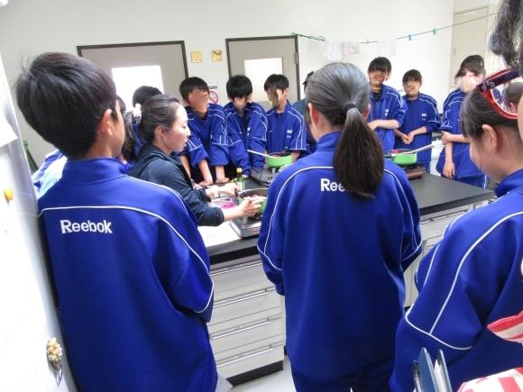 石狩中学校 環境学習_f0354435_15015496.jpg
