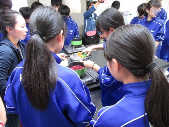 石狩中学校 環境学習_f0354435_15220292.jpg