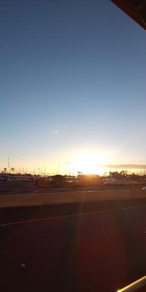 5日目の夕陽&夕焼け🌇_b0356852_16162255.jpg