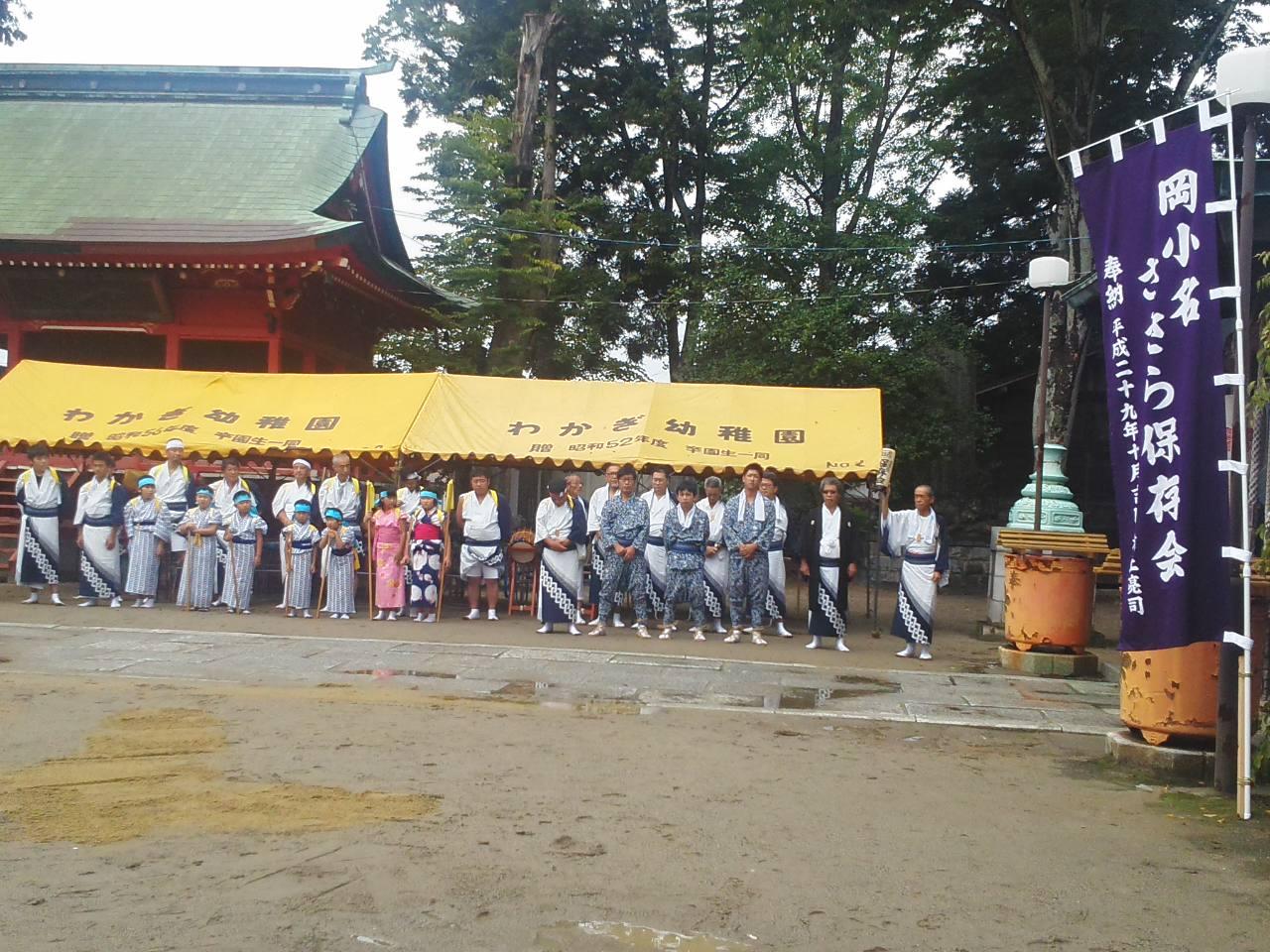 棒ささらの奉納、小名浜諏訪神社例大祭夏祭_e0068696_18275381.jpg